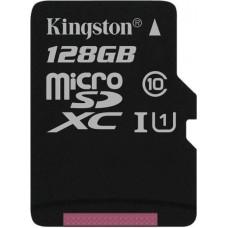 Карта памяти Kingston microSDXC 128GB Class 10 Gen.2 без адаптера (SDC10G2/128GBSP)