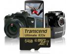 Карта памяти Transcend microSDXC 32GB Class 10 UHS-I U3 Ultimate + SD адаптер (TS32GUSDU3)