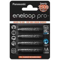 Аккумулятор Panasonic Eneloop Pro AA 2500mAh BK-3HCDE/4BE (4шт.)