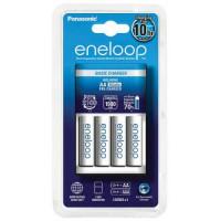 Зарядное устройство Panasonic Eneloop BQ-CC51E Basic Charger + 4 AA 1900 (K-KJ51MCC40E)