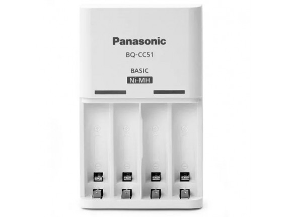 Зарядное устройство Panasonic Eneloop BQ-CC51E Basic Charger
