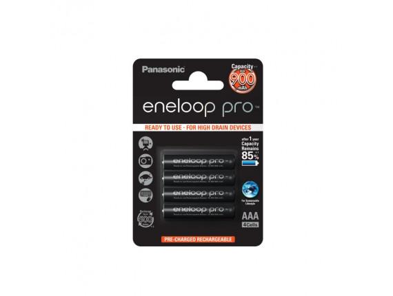 Аккумулятор Panasonic Eneloop Pro ААA 900mAh BK-4HCCE/4BE (4шт.)