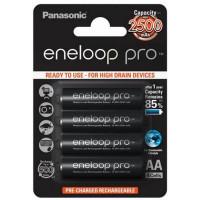 Аккумулятор Panasonic Eneloop Pro AA 2450mAh BK-3HCCE/4BE (4шт.)