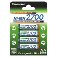 Аккумулятор Panasonic Ni-MH АА 2700mAh BK-3HGAE/4BE (4шт.)