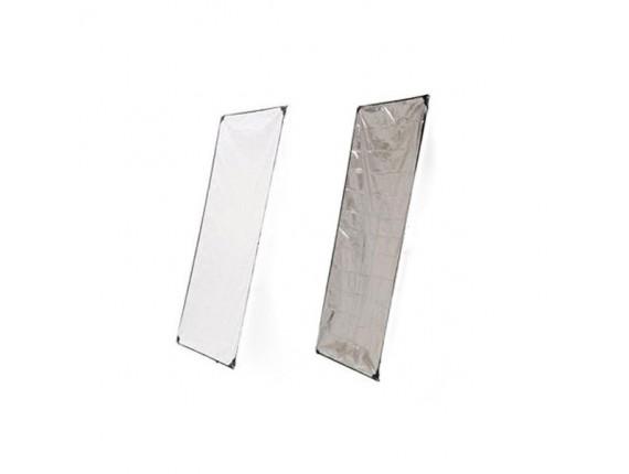 Панель для отражателя HYUNDAE PHOTONICS White/Metal Silver 100x180см