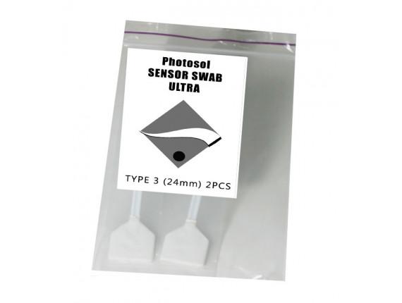 Швабры для чистки матрицы Photosol Sensor Swab ULTRA Type 3 24mm (2шт)