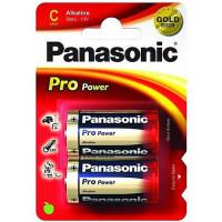Батарейка Panasonic PRO POWER C BLI 2 ALKALINE (LR14XEG/2BP)