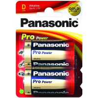 Батарейка Panasonic PRO POWER D BLI 2 ALKALINE (LR20XEG/2BP)