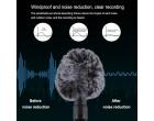 Микрофон Puluz PU3044 Video Mic (3.5mm)