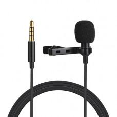 Микрофон петличка Puluz PU424 1,5м (3.5mm)