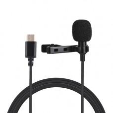 Микрофон петличка Puluz PU425 1,5м (Type-C)