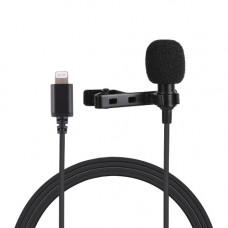 Микрофон петличка Puluz PU426 1,5м (for iPhone)