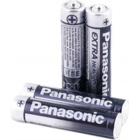 Батарейка Panasonic Extra Heavy Duty AAA Zinc Carbon, 4шт. (R03UE/4PR)