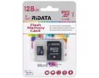 Карта памяти RiData microSDXC 128GB Class 10 UHS-I + SD адаптер (FF967403)