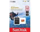 Карта памяти Sandisk microSDHC 32GB Extreme Action A1 Class 10 V30 UHS-I U3 + SD-adapter (SDSQXAF-032G-GN6MA)