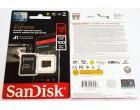Карта памяти Sandisk microSDXC 128GB Extreme A1 Class 10 V30 UHS-I U3 + SD-adapter (SDSQXAF-128G-GN6MA)