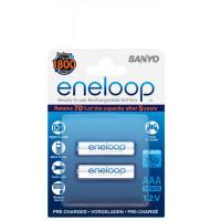 Аккумулятор Sanyo Eneloop R3 ААА (750mAh) x 2шт. (HR-4UTGB-2BP)