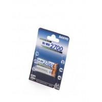 Аккумулятор Sanyo R6 AA (2700mAh) x 2шт