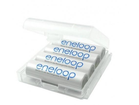 Аккумулятор Sanyo Eneloop R6 AA (1900mAh) x 4шт + футляр