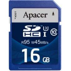 Карта памяти Apacer SDHC 16GB Class10 UHS-I (AP16GSDHC10U3-R)