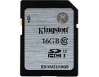 Карта памяти Kingston SDHC 16GB Class 10 UHS-I (SD10VG2/16GB)