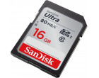 Карта памяти Sandisk SDHC 16GB Class 10 UHS-I (SDSDUNC-016G-GN6IN)