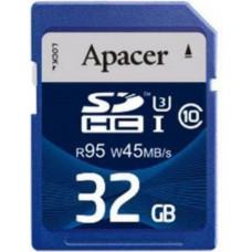 Карта памяти Apacer SDHC 32GB Class10 UHS-I R95 W45 MB/s (AP32GSDHC10U3-R)