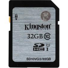 Карта памяти Kingston SDHC 32GB Class 10 UHS-I (SD10VG2/32GB)
