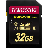 Карта памяти Transcend SDHC 32GB Class 10 UHS-II U3 Ultimate (TS32GSD2U3)