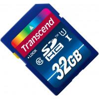 Карта памяти Transcend SDHC 32GB Class 10 UHS-l (TS32GSDU1)