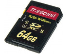 Карта памяти Transcend SDHC 64GB Class 10 UHS-II U3 Ultimate (TS64GSD2U3)