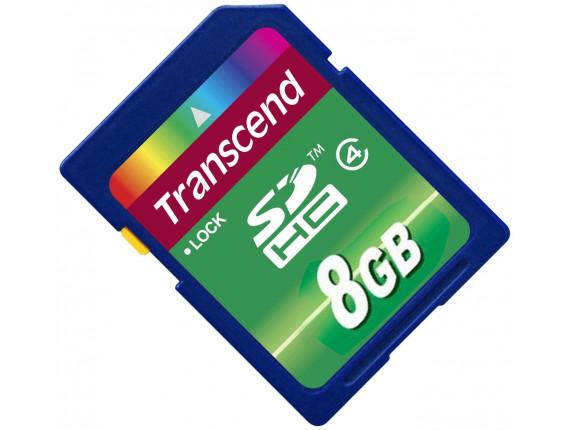Карта памяти Transcend SDHC 8GB Class 4 (TS8GSDHC4)