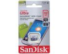 Карта памяти SanDisk Ultra microSDHC UHS-I 32GB Class 10 (SDSQUNS-032G-GN3MN)