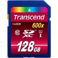 Карта памяти Transcend SDXC 128GB Class 10 UHS-I Ultimate (TS128GSDXC10U1)