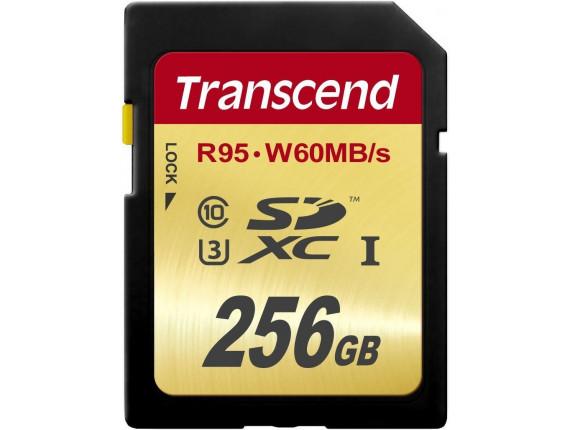 Карта памяти Transcend SDXC 256GB Class 10 UHS-I U3 Ultimate (TS256GSDU3)