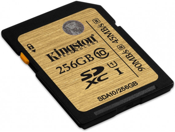 Карта памяти Kingston SDXC 256GB Class 10 UHS-I Ultimate (SDA10/256GB)