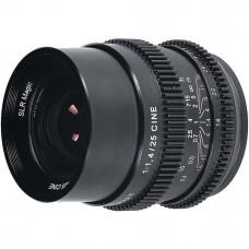 Объектив SLR Magic Cine 25mm f1.4 FE (Sony E)