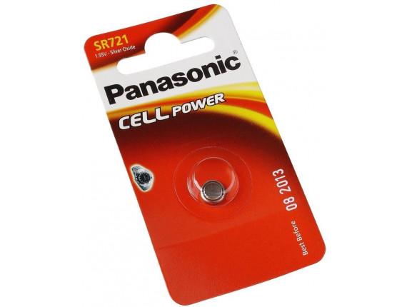 Батарейка Panasonic SR721 BLI 1 (SR-721EL/1B)