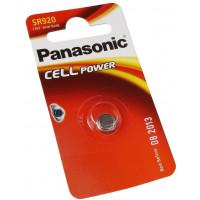 Батарейка Panasonic SR920 Silver Oxide, 1шт. (SR-920EL/1B)