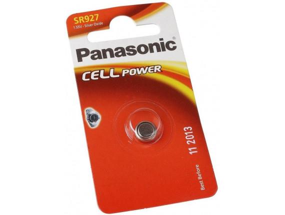 Батарейка Panasonic SR-927 BLI 1 (SR-927EL/1B)