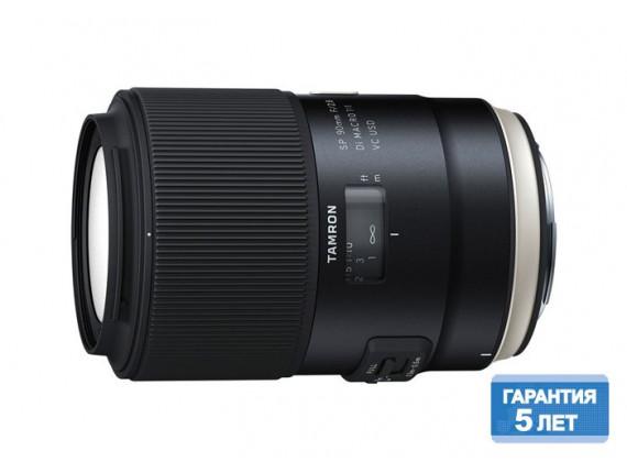 Объектив Tamron SP AF 90mm F/2,8 Di VC USD Macro 1:1 для Canon