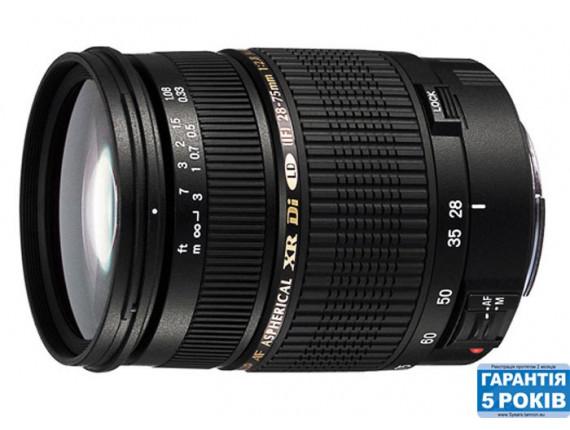 Объектив TAMRON SP AF 28-75mm F/2,8 Di XR LD Asp. (IF) Macro для Canon