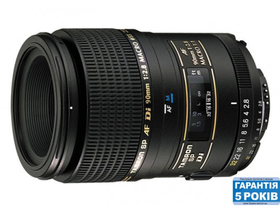 Объектив TAMRON SP AF 90mm F/2,8 Di Macro 1:1 для Nikon