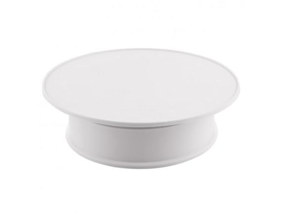 Поворотный стол для предметной съёмки AccPro TBD-1603 white velvet (30см)