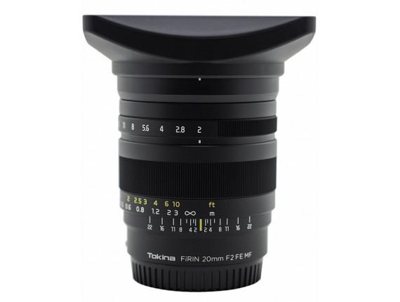 Объектив Tokina Firin 20mm f/2.0 Sony FE MF