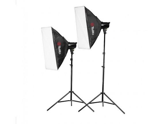 Набор студийного света Tolifo T-200B Softbox KIT
