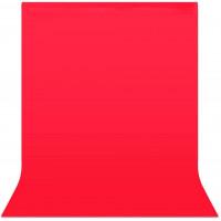 Фон студийный тканевый Visico PBM-3060 red 3х6м