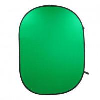 Фон в пружинной рамке Visico BP-028 Chroma Key (зелёный) 150x200см