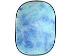 Фон в пружинной рамке Visico BP-028 W-025 (голубой в разводах) 150x200см
