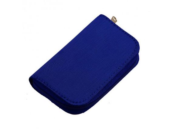 Чехол для карт памяти Visico Case Wallet MC-SD18CF4 blue